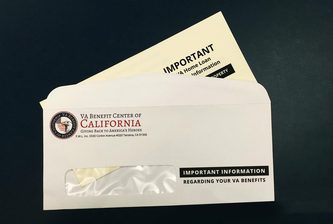 VA Benefits of California - Graphic Design Company in